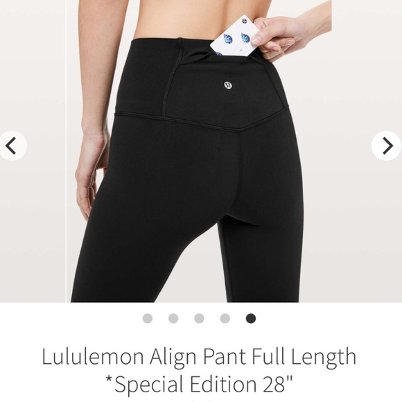 ISO Lululemon Aligns with Back Pocket!